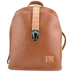 Tabac eco-leather backpack Pierro Accessories 90563