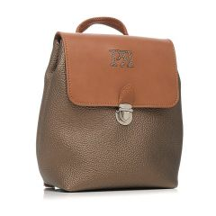 Bronze backpack Pierro Accessories 90585