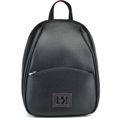 Black backpack Pierro Accessories 90605