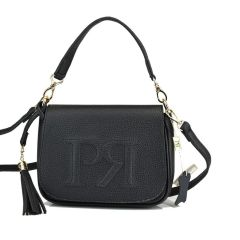 Black cross body bag Pierro Accessories 90609