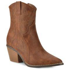 Camel cowboy bootie 99-226