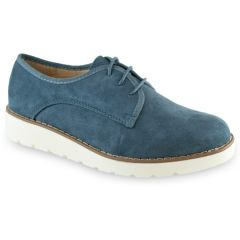 Blue suede oxford  Α550-DE1