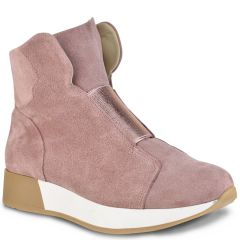 Nude leather sneakers HiLo A550