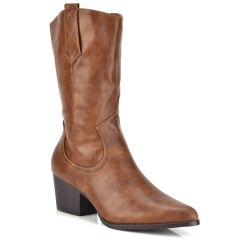 Brown boot A-68