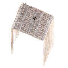 Μπεζ τσάντα χειρός Lovely handmade ANDRIANNA
