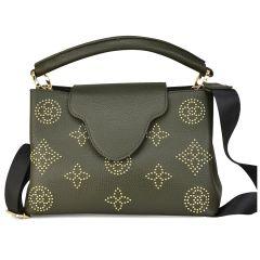 Green shoulder bag ANGIE