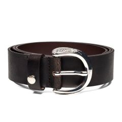 Brown leather belt REPLAY AW2441