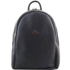 Μαύρη τσάντα πλάτης Lovely handmade Basic