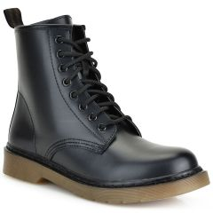 Black biker boot BH316