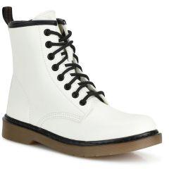White biker boot BH316
