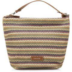 Πολύχρωμη τσάντα ώμου MariaMare BONA