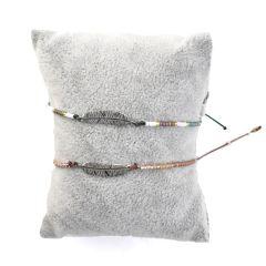 Bracelet with silver leaf F290