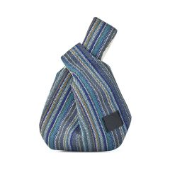 Μπλε τσάντα χειρός Lovely handmade CARPOS