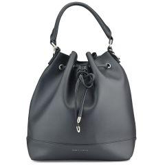 Μαύρη τσάντα πουγκί CK506