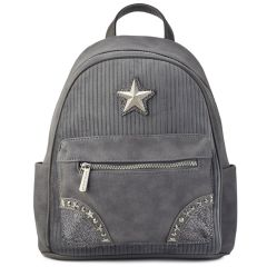 Grey backpack David Jones CM3623