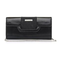 Black clutch bag MariaMare DAINA