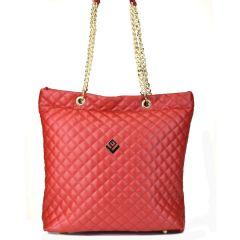 Κόκκινη τσάντα ώμου Lovely handmade DREAMY