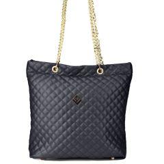 Μαύρη τσάντα ώμου Lovely handmade DREAMY