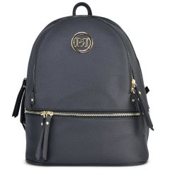 Black backpack Pierro Accessories 90611