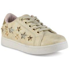 Beige junior sneakers E22-61