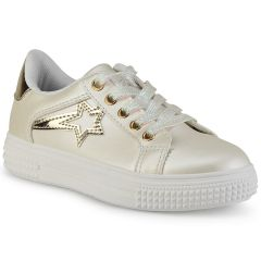 Ivory junior sneakers E22-72