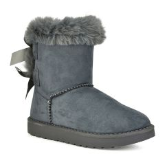 Grey junior Australian Boot F05A
