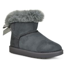 Grey junior Australian Boot F07A
