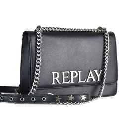 Black cross body bag REPLAY FW3000