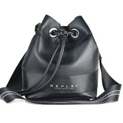 Μαύρη τσάντα πουγκι REPLAY FW3029