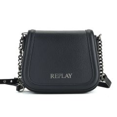 Black cross body bag REPLAY FW3004