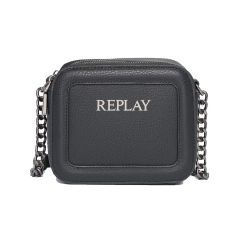 Black cross body bag REPLAY FW3006