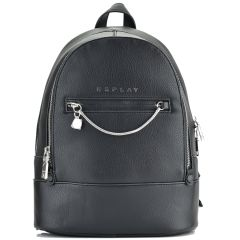 Black backpack  REPLAY FW3013