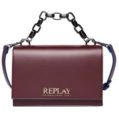 Bordeaux cross body bag REPLAY FW3045