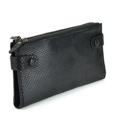 Black snake print wallet G32