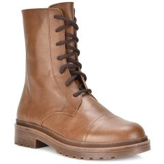 Tabac leather biker boot QUOD 510