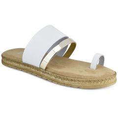 White leather sandal QUOD GT733