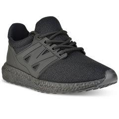 Μαύρο sneakers με glitter HY2805