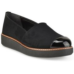 Black Slip on with patent details ID250