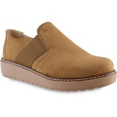 Tabac suede slip-on  IOANNIS ID300S