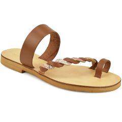 Tabac leather sandal IOANNIS ID05