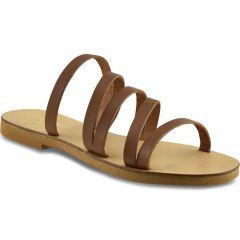 Tabac leather sandal IOANNIS ID17