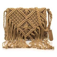 Πλεκτή τσάντα χιαστή MTNG IRIA