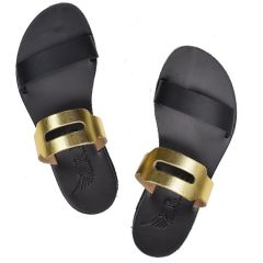 Black leather sandal Iris Sandals IR20/12