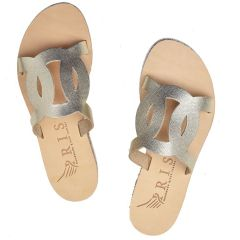 Gold leather sandal Iris Sandals IR20/8