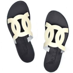 Ecru leather sandal Iris Sandals IR20/8