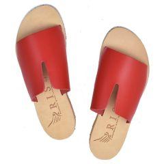 Red leather sandal Iris Sandals IR9/26