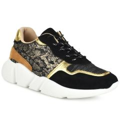 Μαύρο sneaker KR9581