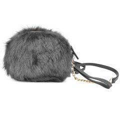 Grey handbag L39082