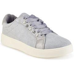 Γκρι σουεντ sneakers LA93