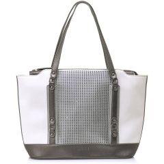 White shoulder bag MariaMare LANI